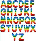 English alphabet letters rainbow LGBT applique iron on patch your choice
