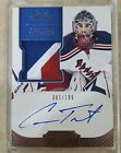 2011-12 DOMINION #159 CAM TALBOT CUP ROOKIE AUTO 3 CLR PATCH 81 199 HOLY GRAIL