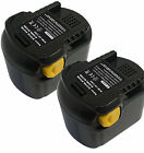 Pair NEW Battery for 12V AEG BSS 12 RW,BSS12 RW,BSS,M1230R DRILL DRIVER 3AMP