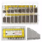 360pcs Stainless Steel Watch Band Spring Bars Strap Link Pins 8-25mm Repair Kit