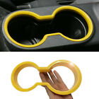 1 X Front Water Cup Holder Trim For Jeep Wrangler & Unlimited 2011-2017 yellow