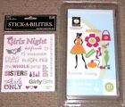 NEW Cricut Cartridge FOREVER YOUNG+Stickers models dresses purses