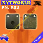 REAR Brake Pads DAELIM SL 125 Otello Fi 2007 2008 2009