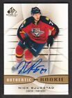 2013-14 SP Game Used Gold Autograph #198 Nick Bjugstad AUTO Florida Panthers
