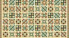 A Stitch in Time NORTHCOTT FABRIC PANEL quilt blocks squares 24 by 44 in 39537