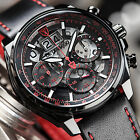 DETOMASO Livello Mens Watch Red Black Chronograph Big Date Stainless Stell New