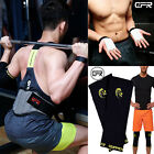 Weight Lifting Gym Belt Padded Workout Belt Back Support Palm Grip Knee Sleeve