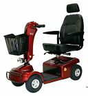 RED Shoprider Sunrunner 4 Wheel Mobility Scooter 300 lb Weight Capacity
