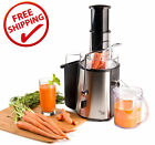Stainless Steel Electric Juice Extractor Machine Juicer Veggie Fruit Smoothie BN