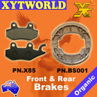 FRONT REAR Brake Pads Shoes KYMCO Vitality 50 2T 2004 2005 2006 2007 2008 2009