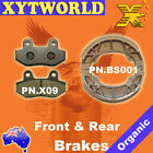 FRONT REAR Brake Pads Shoes KYMCO Active SR 50cc 2008 2009 2010 2011
