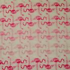 Pink Flamingos FLANNEL Fabric by the HALF YARD