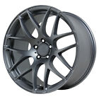 Staggered Verde Empire Front20X85Rear20X10 5x120 +15mm Graphite Wheels Rims