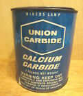 Union Calcium Carbide Pea Grade 2 Lb 3 4+ Full Miners Lamp Vintage