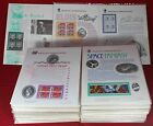 219 American Commemorative Collections Sheets US Postage Stamps FDC