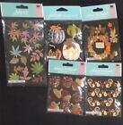 CUTE Jolees Boutique Fall Autumn Lot of 5 3D Dimensional stickers CLEARANCE
