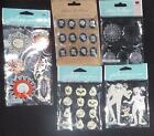 CUTE Jolees Boutique Halloween Lot of 5 1 3D Dimensional stickers CLEARANCE