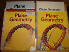 Abeka 11 Plane Geometry Student Text Solution Key Test Q Key + Second Edition