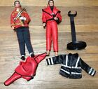 LJN 1984 MICHAEL JACKSON DOLL LOT w clothes  Stand Used