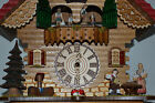 Trenkle Uhren Chalet Style Battery Operated Cuckoo Clock 13 x 11  Multiple Songs