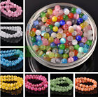 Wholesale 6 8 10 12mm Round Cats Eye Glass Loose Beads Craft Jewelry Finding DIY