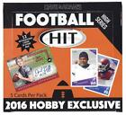 2016 Sage HIT HIGH SERIES FOOTBALL Hobby Box-12 AUTOS Box-ELLIOTT