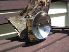 JUST RITE BRASS CARBIDE COAL MINERS LAMP LIGHT WITH 4 REFLECTOR