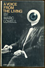 A Voice from the Living by Marc Lovell Crime Club First Edition DJ 1978