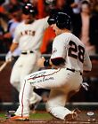 BUSTER POSEY AUTOGRAPHED SIGNED 16X20 PHOTO GIANTS