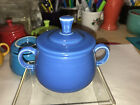 Fiesta COVERED SUGAR BOWL 7 3/4 Oz. new never used - LAPIS