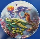 Dolphins Sea Life Ocean Animal Summer Luau Beach Party 9 Paper Dinner Plates