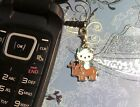 Hello Kitty Cow Cell Phone Charm Dust Plug Cover Smartphone 1 SHIP