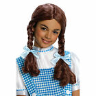 Girls Wizard of Oz Dorothy Halloween Costume Child Wig  RUBIES 50862