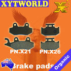 FRONT REAR Brake Pads for SUZUKI RM 125 N P R S RF14A 1992 1993 1994 1995