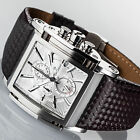 YVES CAMANI ESCAUT Mens Wrist Watch Chronograph Stainless Steel Silver New