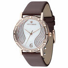 YVES CAMANI Mademoiselle Womens Wrist Watch Rosegold Dial Mother Of Pearl New