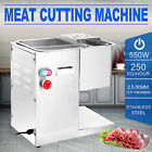 250Kg/Hour Stainless Steel Meat Cutting Machine Commercial Cutter Slicer Kitchen