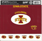 Iowa State University Cardstock Scrapbooking Sticker Frames