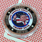 CARD GUARD DONALD TRUMP MAKE AMERICA GREAT CROOKED HILLARY POKER CHIP FREE S H