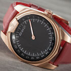DETOMASO CLASSIC MAN 24h One Hand Mens Wrist Watch Rosegold 	Sapphire Glass New
