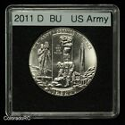 2011 D 50C US Army Uncirculated Commemorative Half Dollar Coin