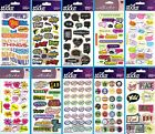 U CHOOSE Sticko Stickers WORDS QUOTES CAPTIONS ICONS PHRASES School Girls Boys