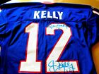 JIM KELLY 1993 Game Used Worn Signed Bills Jersey-Lelands Letter of Authenticity