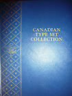 Canada Type Set in New Whitman album folder, majority BU and AU Canadian coins!