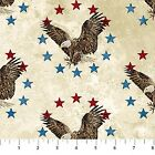 Stars  Stripes V Eagles Stonehenge Quilt Fabric by the 1 2 yard
