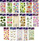 U CHOOSE Sticko Stickers FLOWERS LEAVES TREES GARDEN TULIPS SUNFLOWERS DAISY
