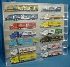 Acrylic Diecast 164 Truck  Hauler Display Case Holds 14 New in Box Made in USA