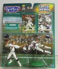 1999 JOHN ELWAY/TERRELL DAVIS STARTING LINEUP CLASSIC DOUBLES NFL FIGS W/CARDS