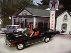 Greenlight VINTAGE TEXACO Gas Station 1969 CHEVY CAMARO SS Convertible✰Black