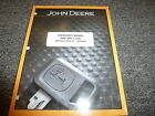 John Deere Model 644K 4WD Loader Owner Operator Maintenance Manual OMT260553